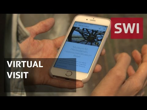Smartphone apps replace exhibits at Swiss museums