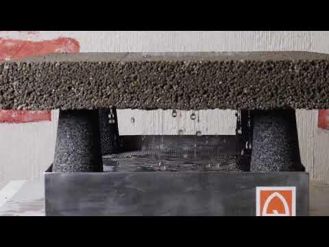 Клинкерная брусчатка Stroeher 20 мм на дренажный бетон Quck-mix. Видеоинструкция!