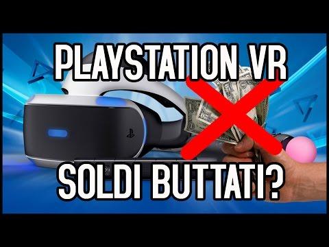 PLAYSTATION VR: 399 EURO BUTTATI? Scopriamolo insieme!