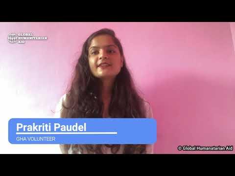 Covid-19 Awareness Message | Prakriti Paudel | Global Humani