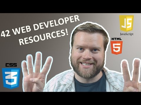 42 Online Tools and Resources For Web Developers in 2018