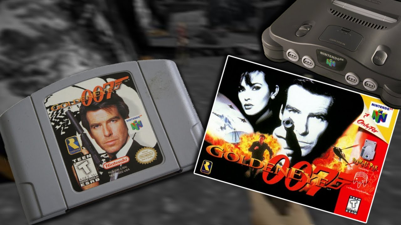 007 goldeneye do nintendo 64 youtube. Black Bedroom Furniture Sets. Home Design Ideas