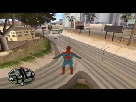 Gta San Andreas - Я человек паук [Spider-Man]