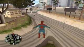 Gta San Andreas - Я человек паук [Spider-Man](Подписываемся на канал скоро будут новые видео !!! Вы можете помочь развитию канала и сделать добровольное..., 2013-08-28T17:59:49.000Z)