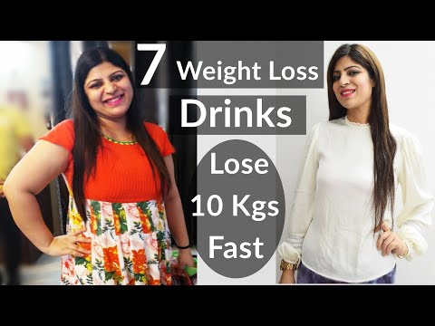 7 Weight Loss Morning/Night Drinks   Weight Loss Tea  Herbal Tea  In Hindi  How To Lose Weight Fast