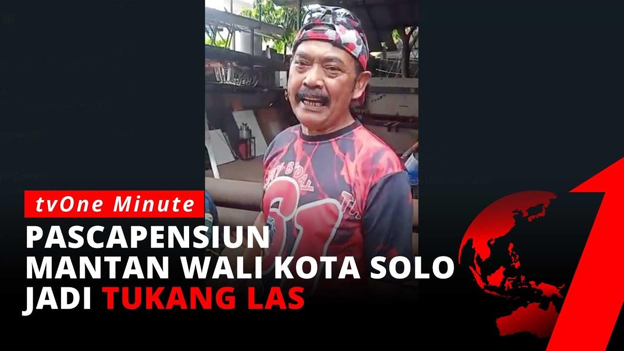 Download Pasca-pensiun Sebagai Wali Kota Solo, FX Hadi Rudyatmo jadi Tukang Las | tvOne Minute