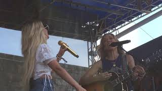 "Sheryl Crow with Maren Morris ""Prove You Wrong"" Live at Newport Folk Festival,  July 27, 2019"