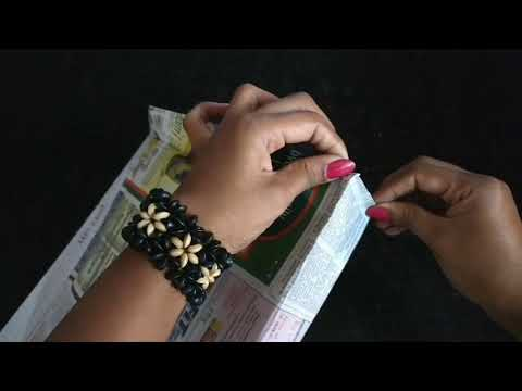 How To Make A Paper Bag With News paper | DIY | Best Out Of Waste | Paper Bag Making | Paper Craft