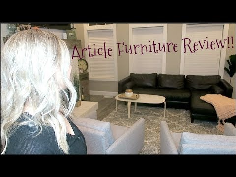 Article Furniture Review!! Home Series!!