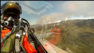 Полет от первого лица на истребителе F 16 || HD 1080