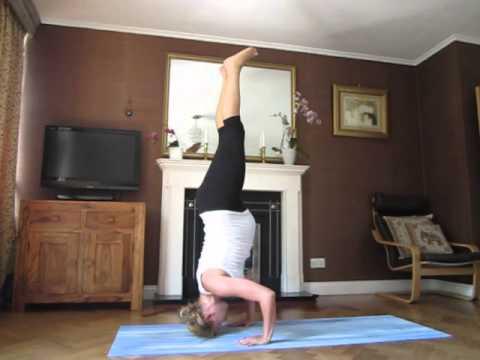 advanced pregnancy yoga8mth scorpion variations