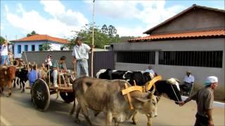 Desfile de Carros de Boi em Teixeiras - São Domingos do Prata (MG)
