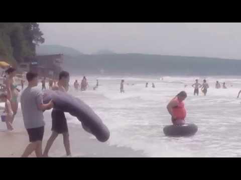 Самый крутой пляж!!!!!!!! Ле́рмонтово!!!! Черное море 2016.