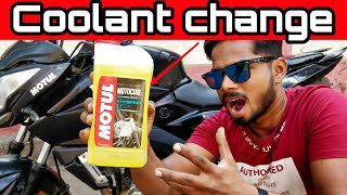 Coolant Flush And Change  For All Motorcycles | Pulsar NS 200