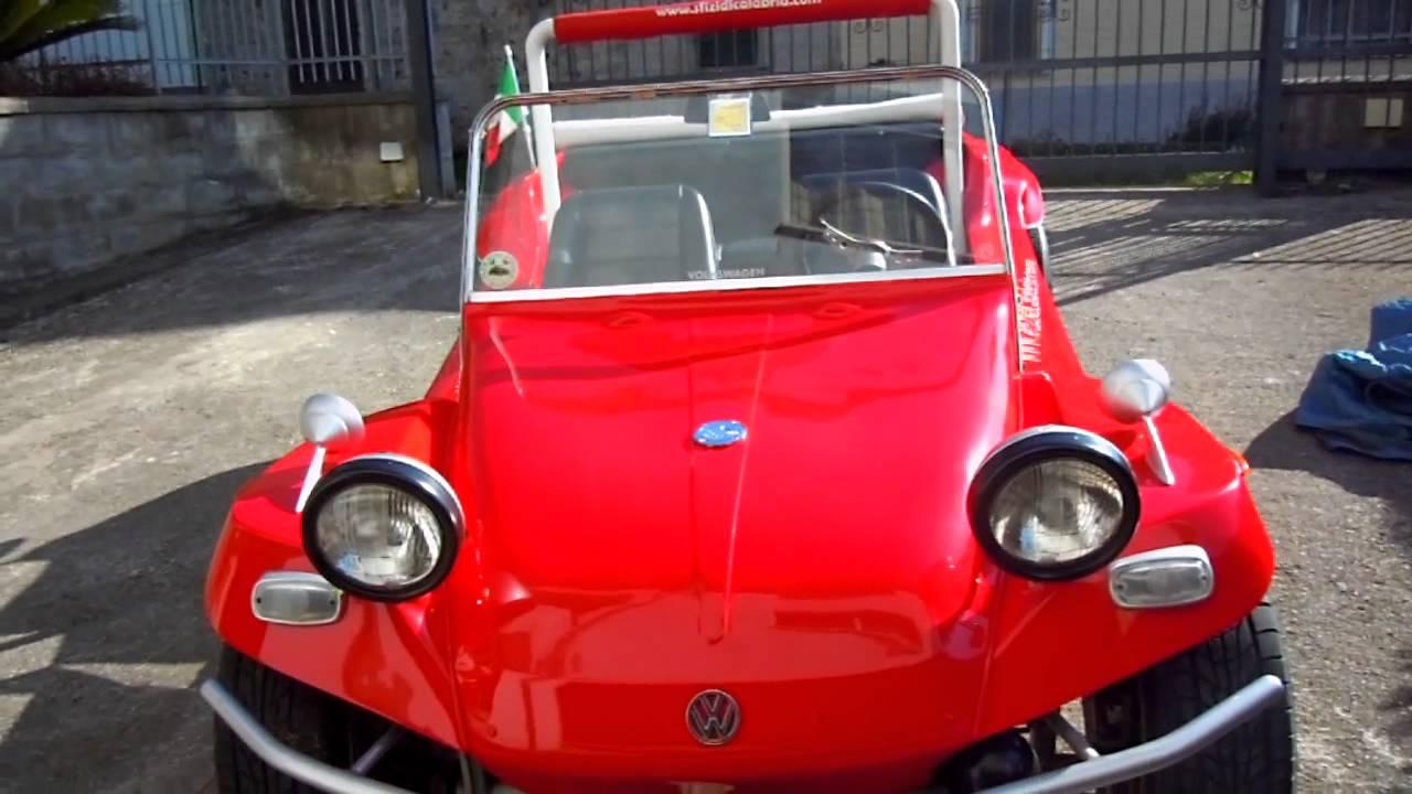 Volkswagen Dune Buggy >> Dune Buggy auto epoca 1968 Volkswagen Puma - www.sfizidicalabria.com - YouTube
