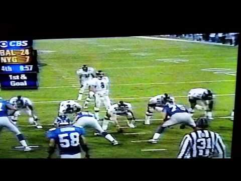 Jamal Lewis TD Super Bowl 35