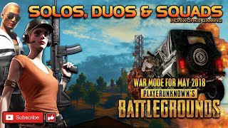 Friday PUBG Mayhem! War mode is BACK! Plus Duo