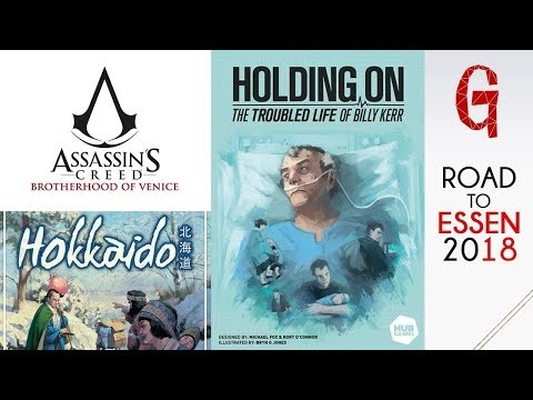 Road to Essen #06: Assassin's Creed - Hokkaido - Holding On