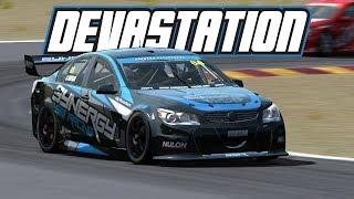 Automobilista: Devastation (V8 Supercar @ Hidden Valley)