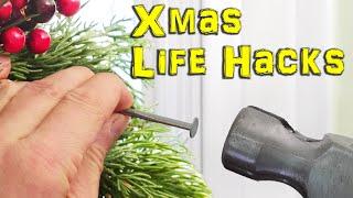 Christmas Lights, Decoration Ideas &  Hacks