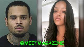 Chris Brown FLIRTS with Rihanna DESPITE having PREGNANT GIRLFRIEND! Chris Light Brown is RUTHLESS!