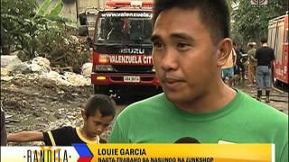 Fire razes Valenzuela warehouse, junk shops