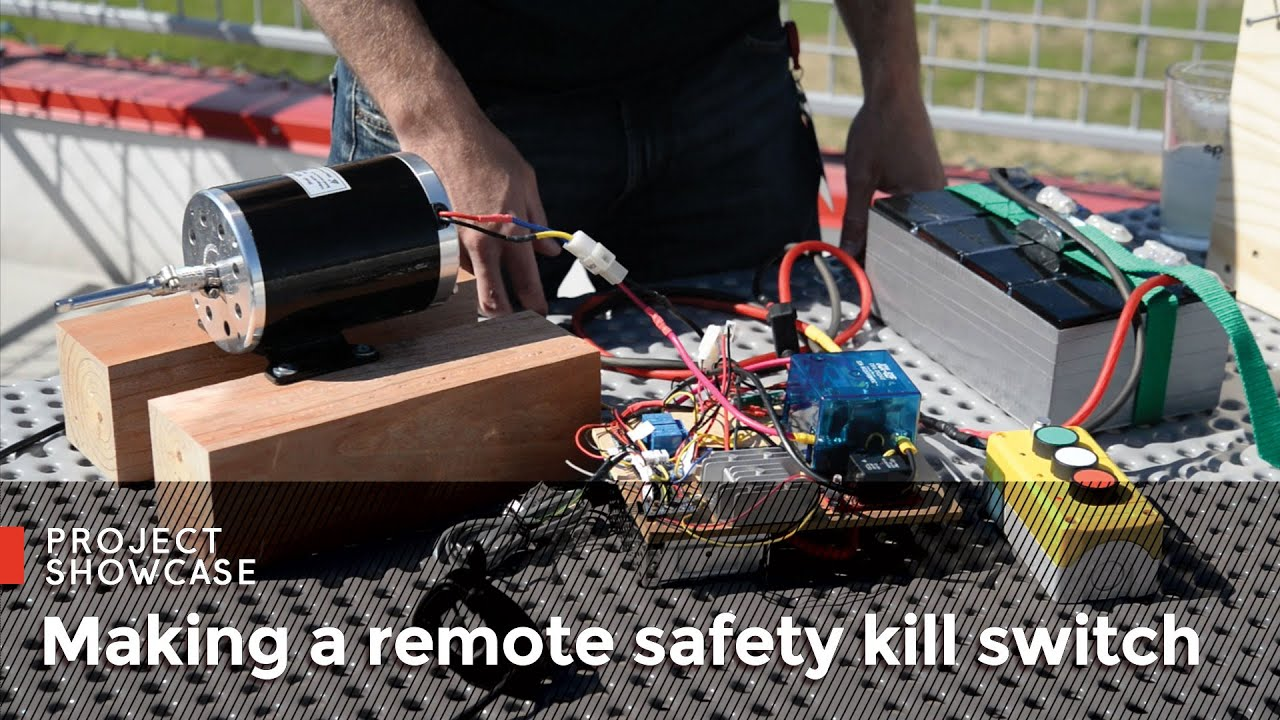 Making A Remote Safety Kill Switch Youtube