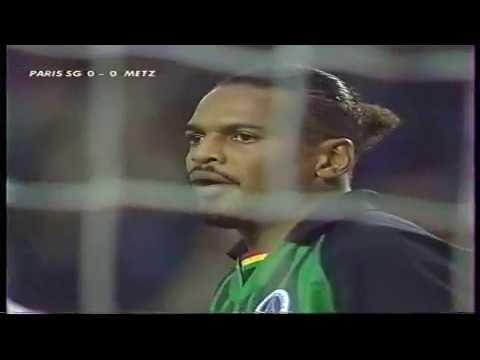 PSG - Metz D1 1996/1997