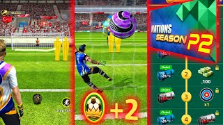 Football Strike NATIONS SEASON PART 2 Best games in Turkey Russia