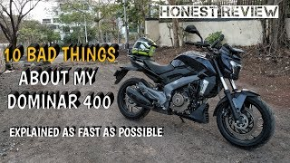 10 problems on my DOMINAR 400 | Ownership review | 1st service thumbnail