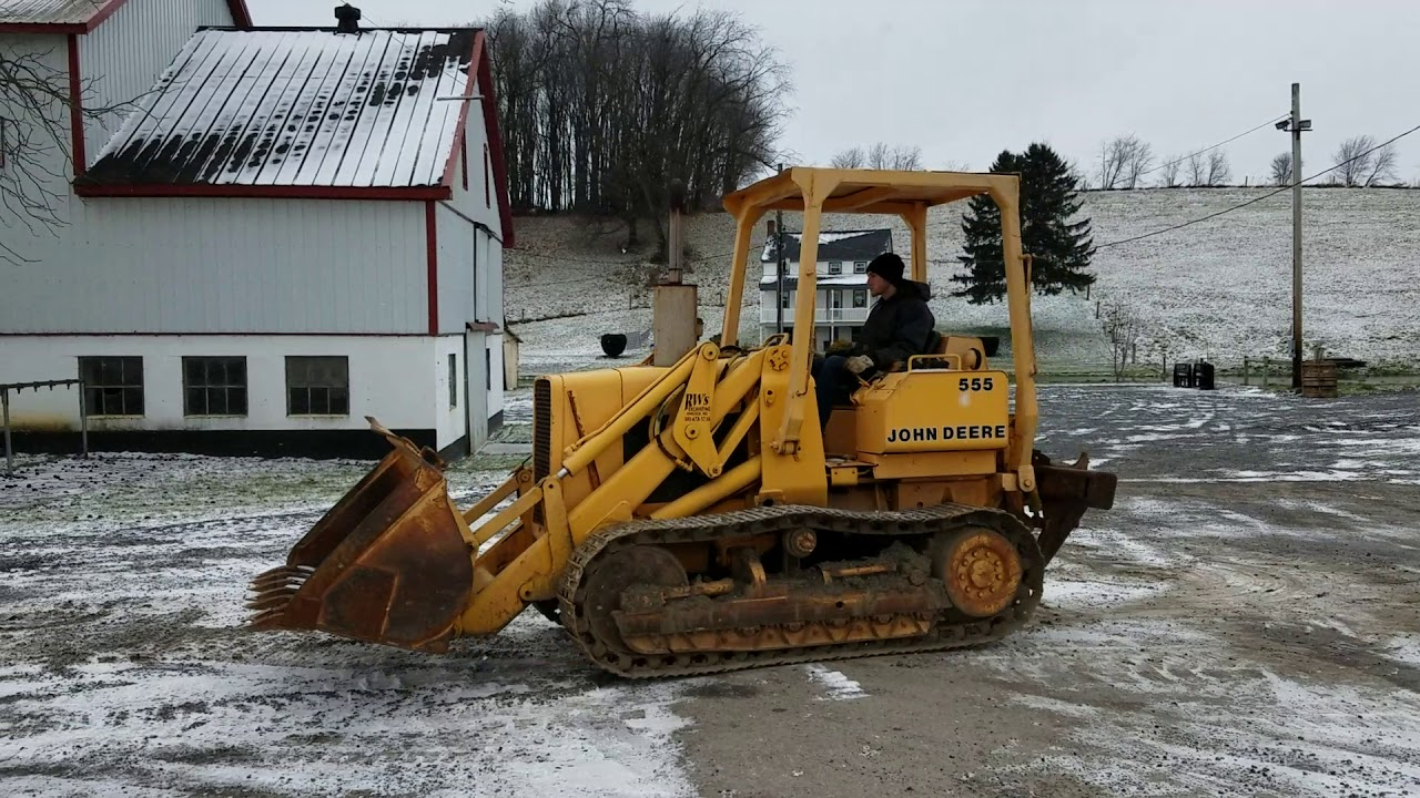 1978 John Deere 555A Tracked Crawler Loader For Sale: Running & Operating  Inspection!