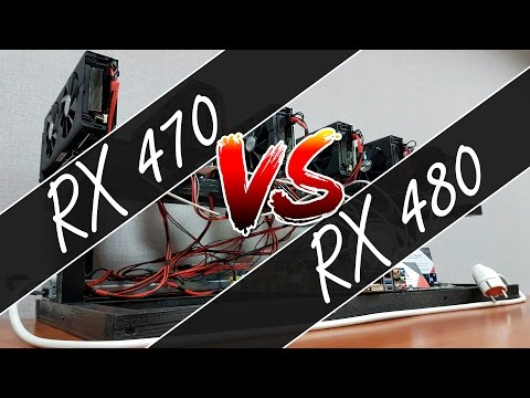 Обзор фермы для майнинга на RX 470 с разгоном + сравнительная таблица с RX 480