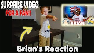 Verbal Ase Surprises a fan! (Reaction included!)