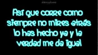 Corre - Jesse & Joy (lyrics/letra)