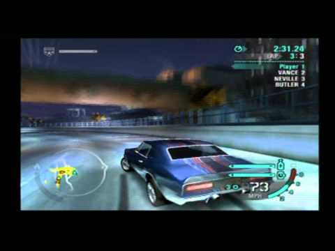 Need For Speed Carbon Demo (PS2) - Muscle - Chevrolet Camaro SS