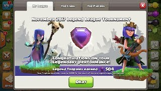 Clash of clans | Legend Th9 attack and defence log
