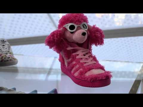quality design da152 3547f Jeremy Scott x adidas Originals Pink Poodle