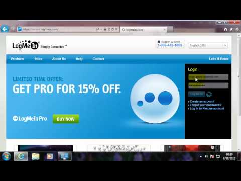 Free Remote Desktop Access with LogMeIn from YouTube · Duration:  13 minutes 22 seconds