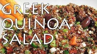 Sanaacooks: Greek Quinoa Salad Recipe