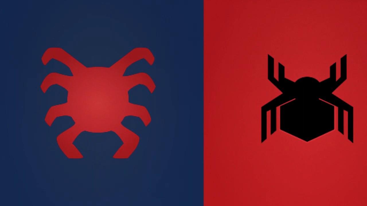 Spiderman back spider logo - photo#35
