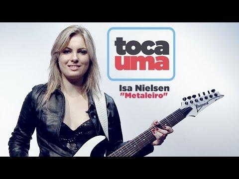 """#TocaUma Com Isa Nielsen (Detonator E As Musas Do Metal) Apres. """"Metaleiro"""" (Showlivre)"""
