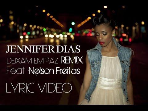 Jennifer Dias Feat. Nelson Freitas - Deixam em paz Remix (Lyric video) | Kizomba