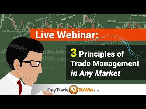 3 Principles of Trade Management