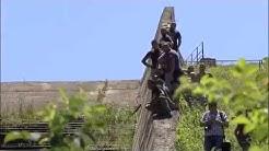 ТИР със стока за Кауфланд катастрофира, тълпи роми разграбиха всичко