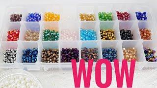 Распаковка посылки/Посылка с бусинами/Мой заказ/Unpacking the package / Parcel with beads / My order