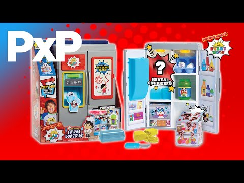 Chef Ryan cooks up fun with this fridge full of surprises! | A Toy Insider Play by Play