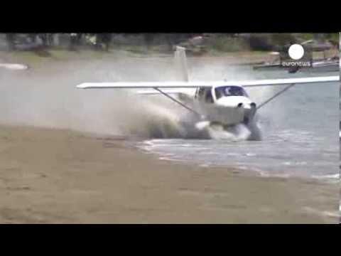 Double trouble! Light plane crashes twice on New Zealand ...  Double trouble!...
