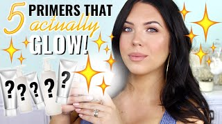 THE 5 GLOWY, DEWY PRIMERS YOU NEED NOW – Best Hydrating Primers That REALLY GLOW! | Faith Drew