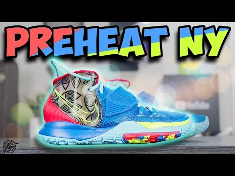 Nike Kyrie 6 PREHEAT New York Detailed Look & Review!