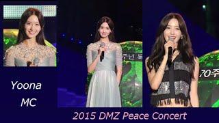 [1080p] 150814 [SNSD] Yoona MC [Full] & Ending - 2015 DMZ  Peace Concert